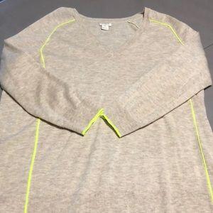 Lightweight wool blend sweater